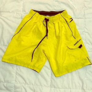 Speedo Men's Swim Shorts - Canary Yellow